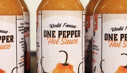One Pepper Hot Sauce
