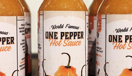 One Pepper Hot Sauce