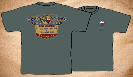 Texas Tony's Vintage T-Shirt – Green