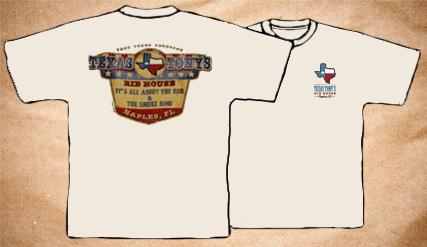 Texas Tony's Vintage T-Shirt – White