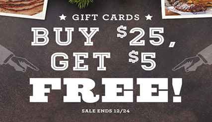 Gift Cards Promotion